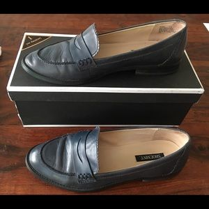 Shoemint Navy Learher loafers